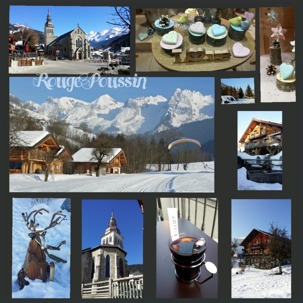 """Photos du bourg """"Le Grand Bornand"""" en Haute-Savoie"""
