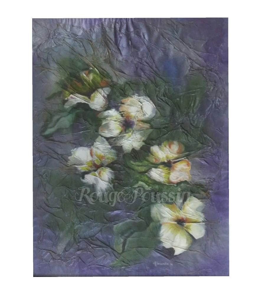 """""""Poésie Fleurie"""" : Tableau à l'huile de Carole Alexandre"""