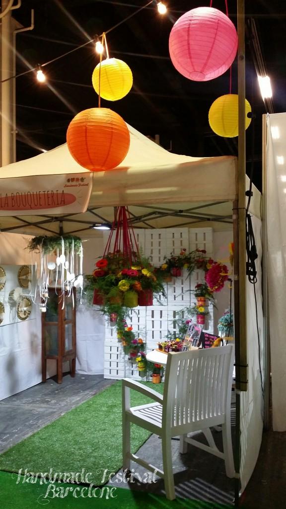 "Stand ""la Boqueria"" au ""Handmade Festival"""