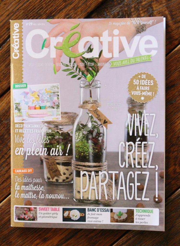 """""""Créative"""", le magazine de mai-juin 2016"""