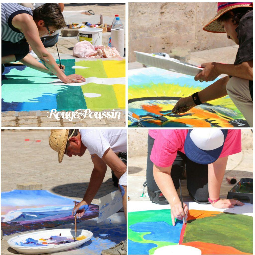 Présentation des peintres