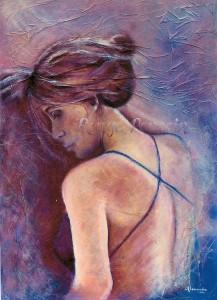 """Instant"" : Tableau de Carole Alexandre"