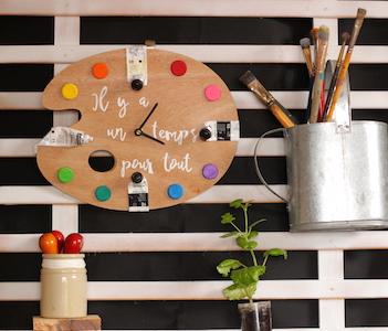 DIY Horloge : «Il y a un temps pour tout» !
