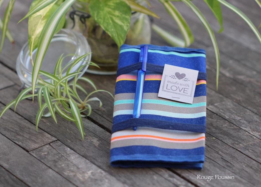Création de porte-chéquier en tissu