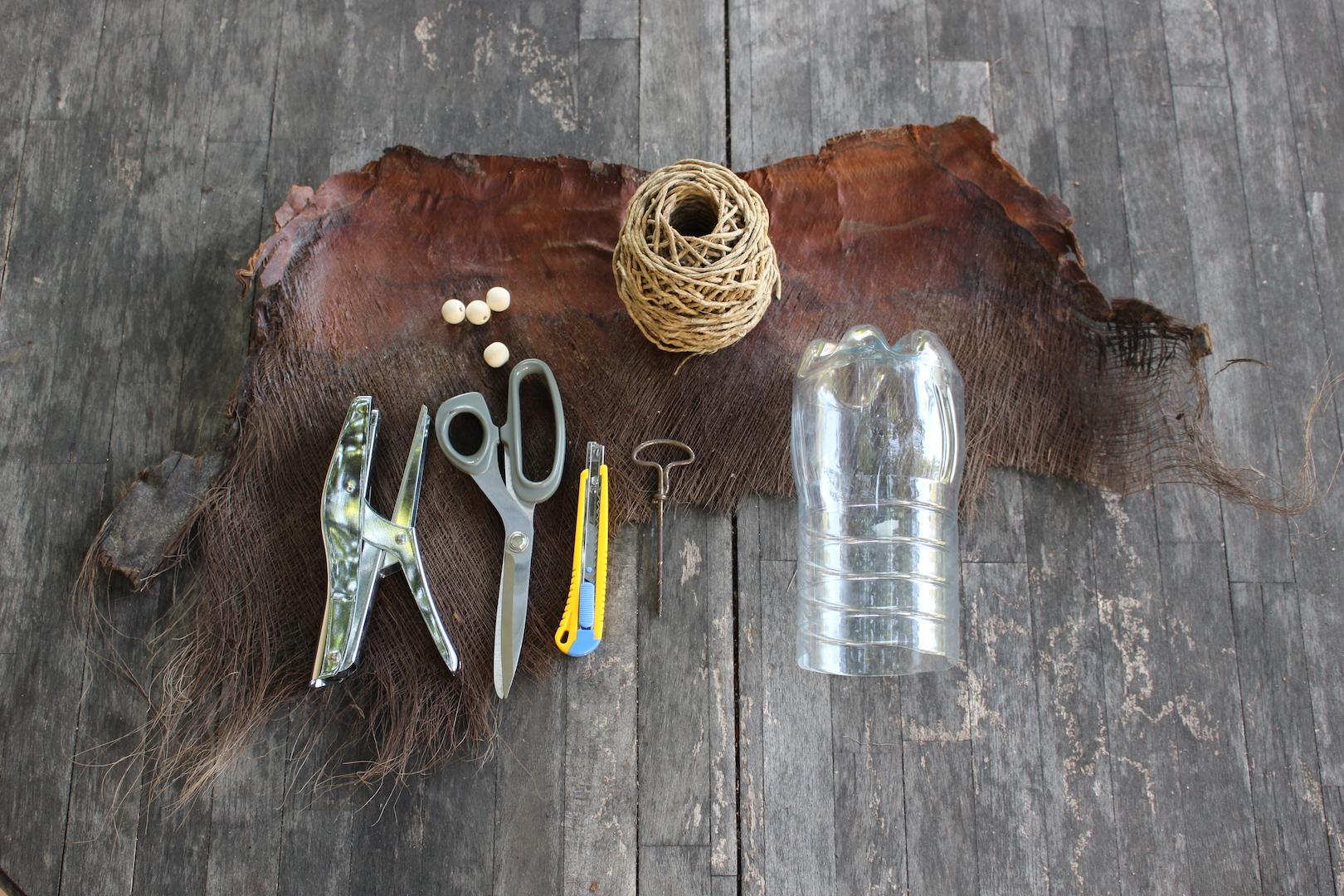 Fournitures nécessaires pour fabriquer un cache-pot
